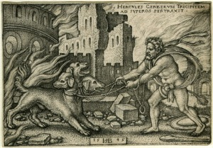 Геркулес захватил Цербера