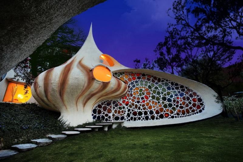 Биодизайн: дом в виде раковины моллюска