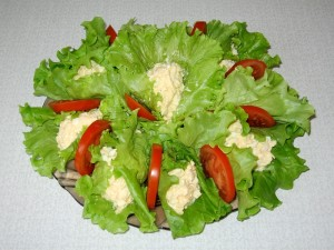 Французский зеленый салат