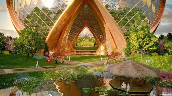 Megatropolis, концепция Tranquil Oasis