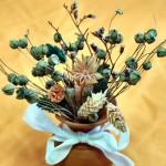 Букет сухих (засушенных) цветов