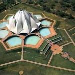 Храм Лотоса в Дели (Индия)