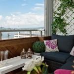 Растения на балконе и веранде