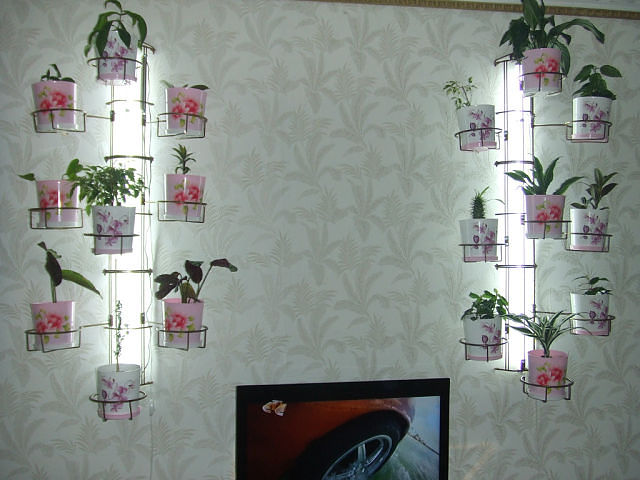 Как сделать полку для цветов на стену фото