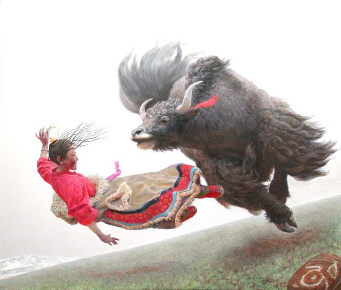 Летающие богини Тибетского нагорья
