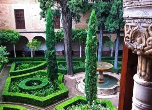 Каноны ландшафта испанского сада