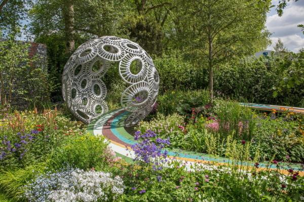 В Челси сад дизайнера из России получил медаль