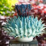 Садовые скульптуры из керамики