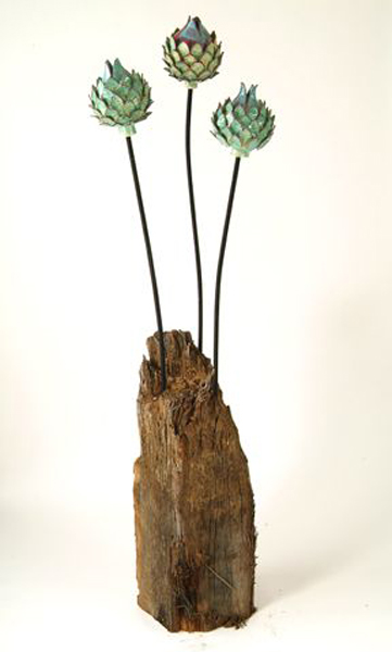 Садовые скульптуры из керамики от Френсис Доэрти