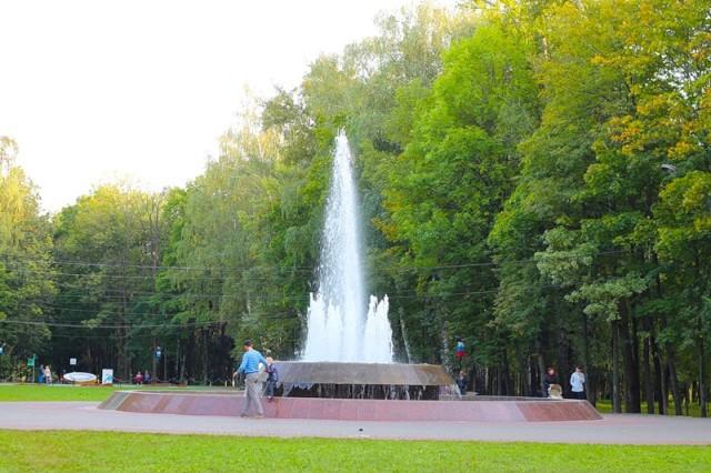 Парк культуры и отдыха им. Толстого в Химках