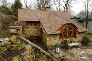 Реальный дом Хоббита от Питера Арчера