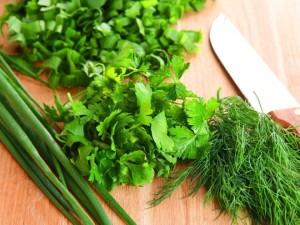 Укроп, петрушка, щавель, салат - заготавливаем на зиму