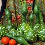 Лагенария Гусь в яблоках, Лагенария обыкновенная, или Горлянка, Индийский огурец, Посудная тыква, Калабас, Калебаса, Калабаш (Lagenaria siceraria)