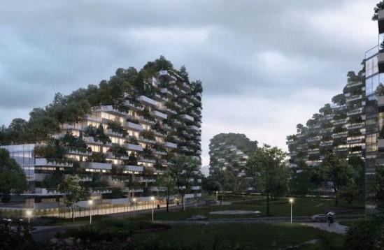 «Лесной город» и вертикальные леса в Китае