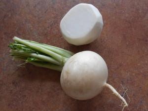 Купить семена, растение – Репа Гейша (салатная)